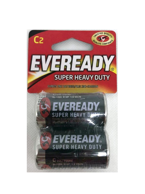 Baterías Eveready C2