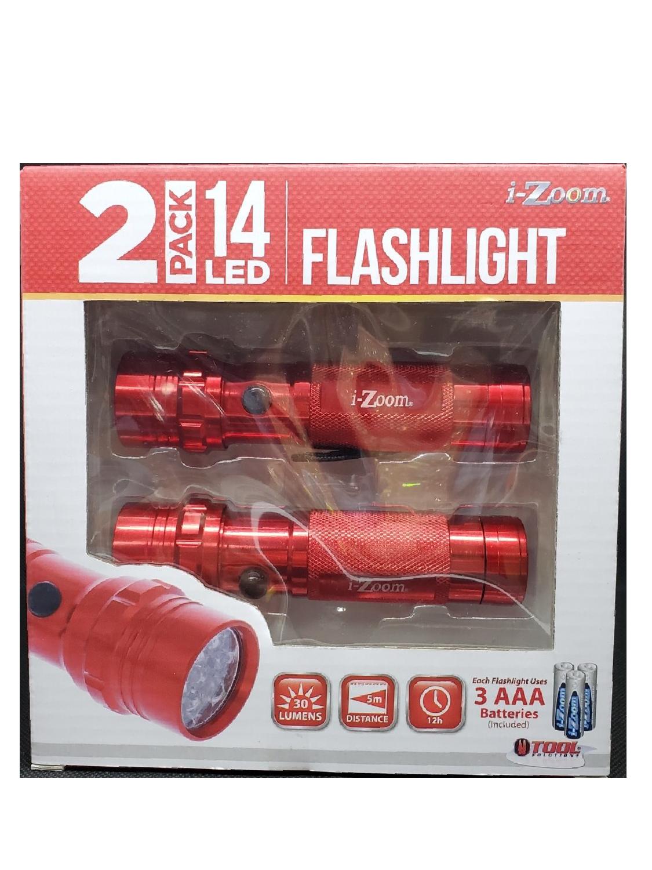Flashlight LED 2 Pack