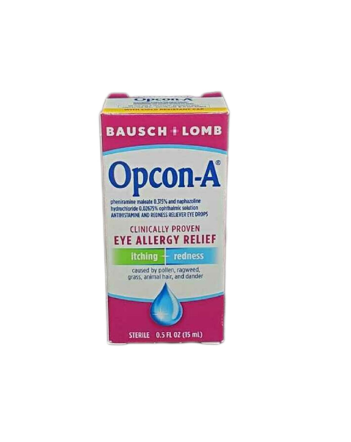 Gotas Oftálmicas Opcon-A