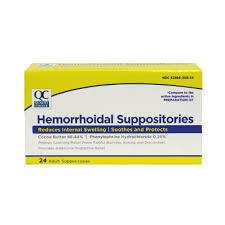 QC Hemorroidal Suppositories