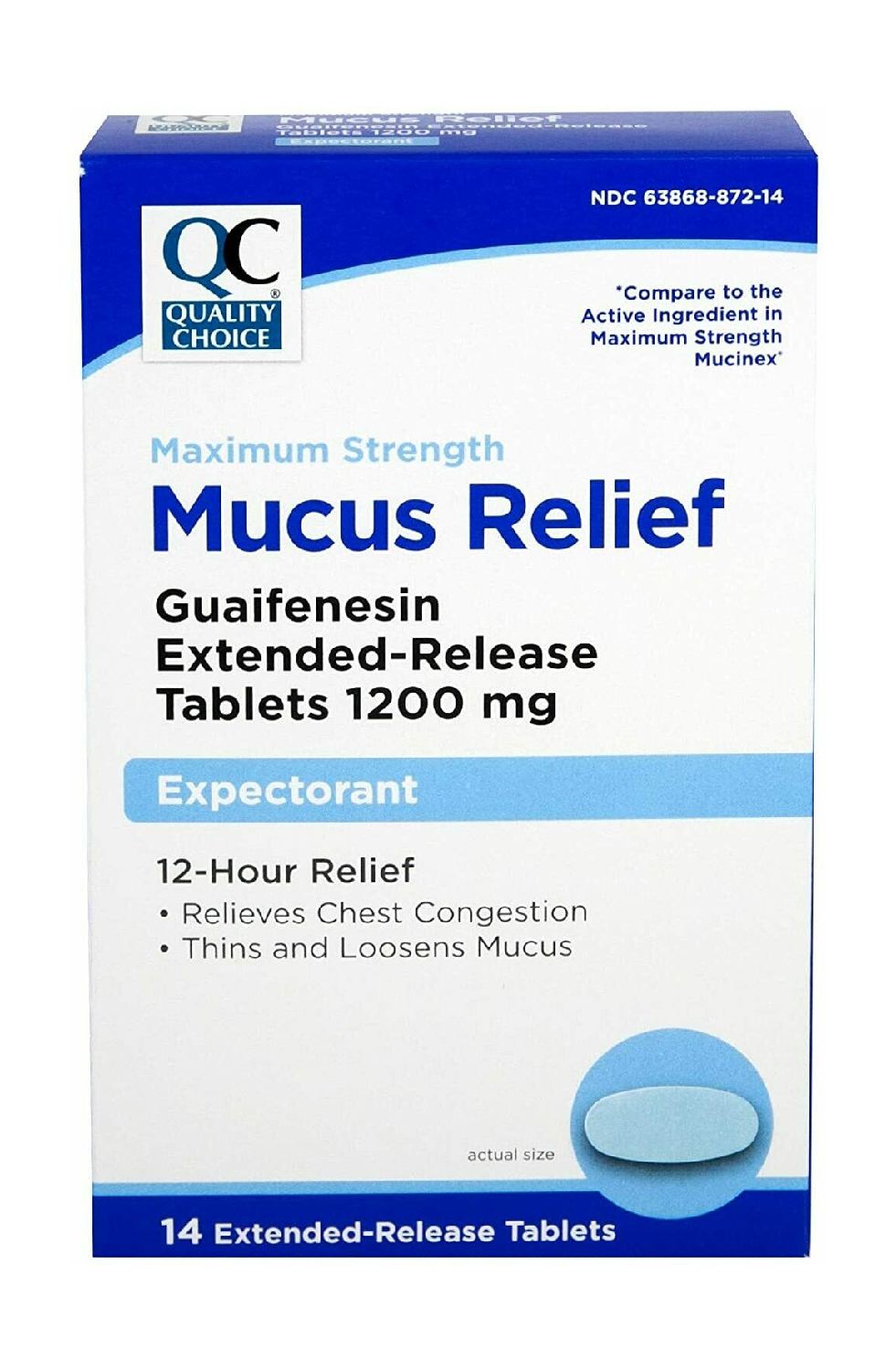 QC Mucus Relief Max Strenght