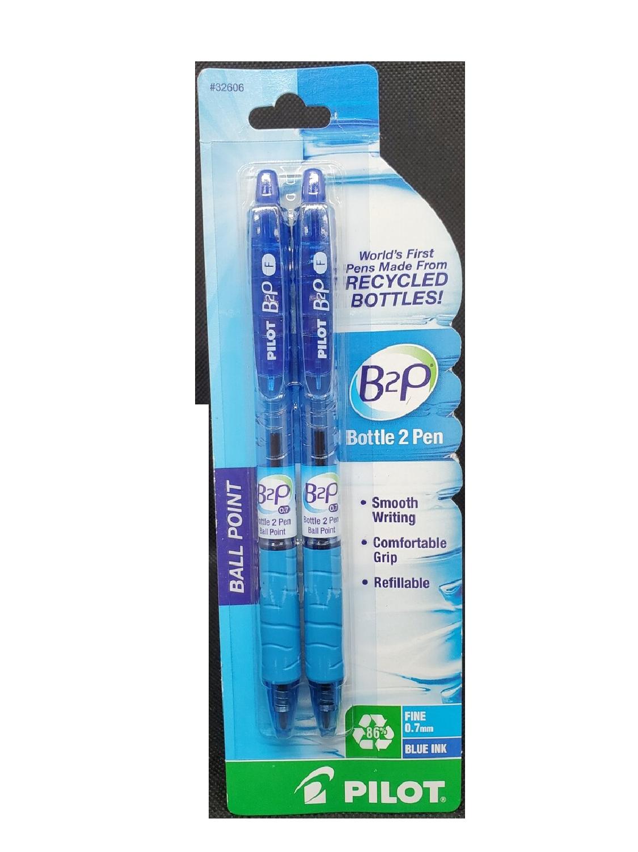 Bolígrafo Pilot B2P Fino Azul