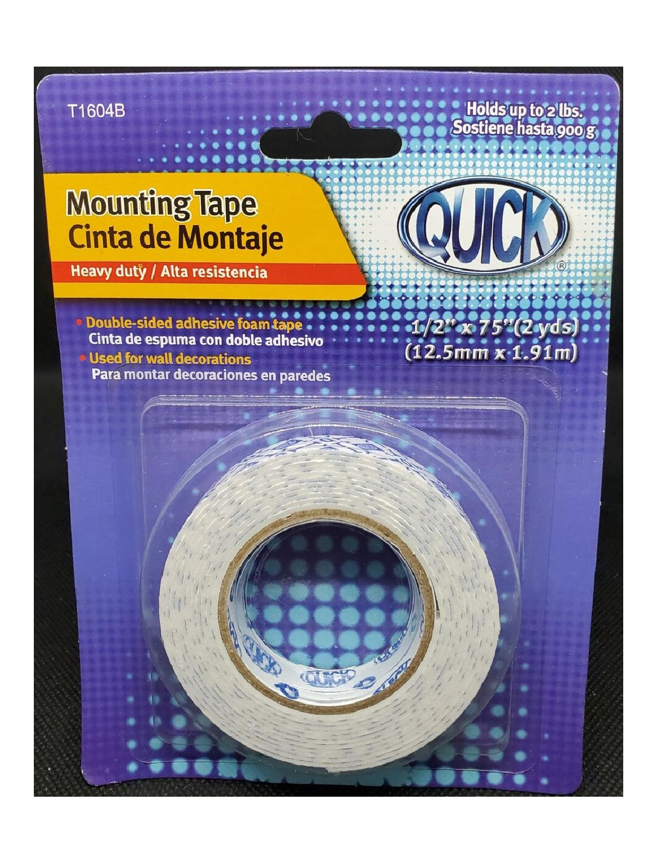 """Mounting Tape en Cinta 1/2"""""""
