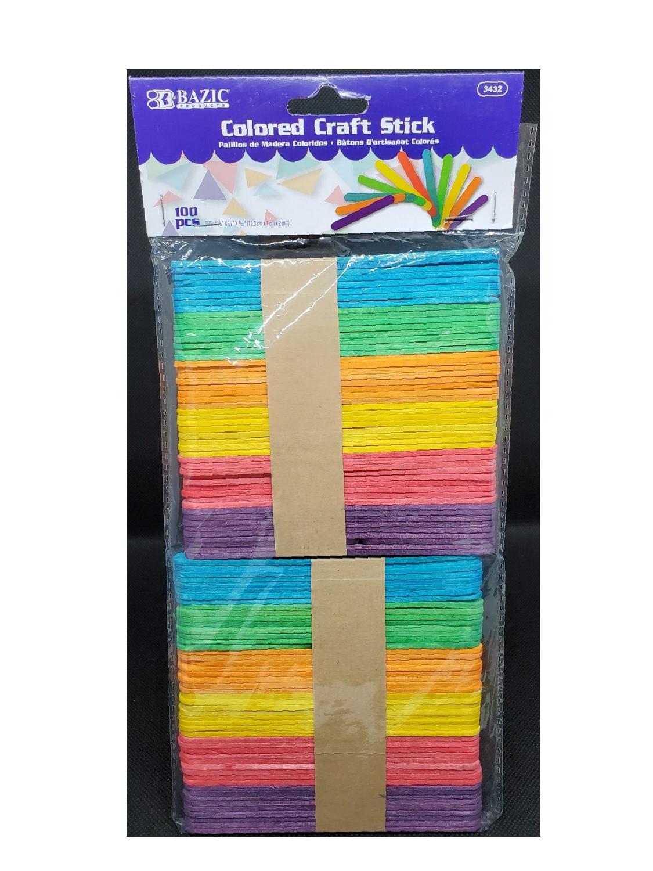 Paletas de Colores en  Madera Pequeñas