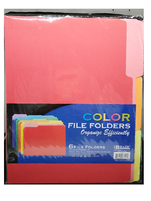 Cartapacios Paquete 6 Colores