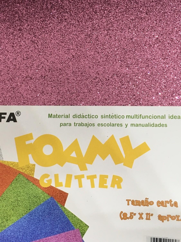 Foamy Glitter