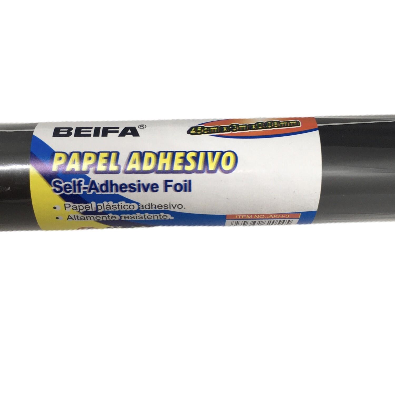 Papel Adhesivo Negro