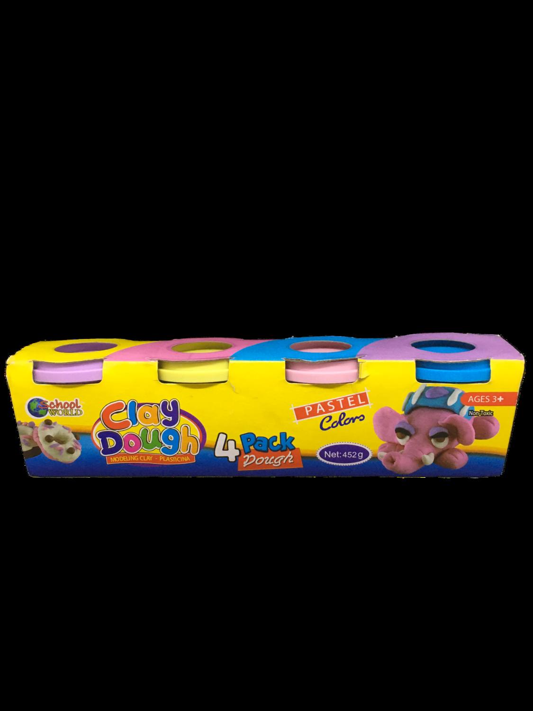 Clay Dough Colores Pasteles