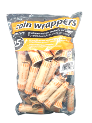 Coin Wrappers 25 centavos