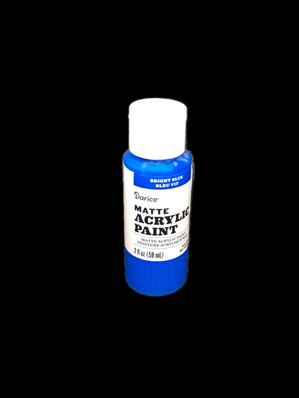 Pintura de Acrílico Azul  Brillante