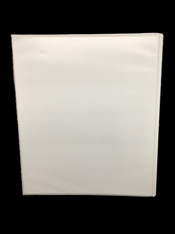 Carpeta 1/2 Pulgada Blanca