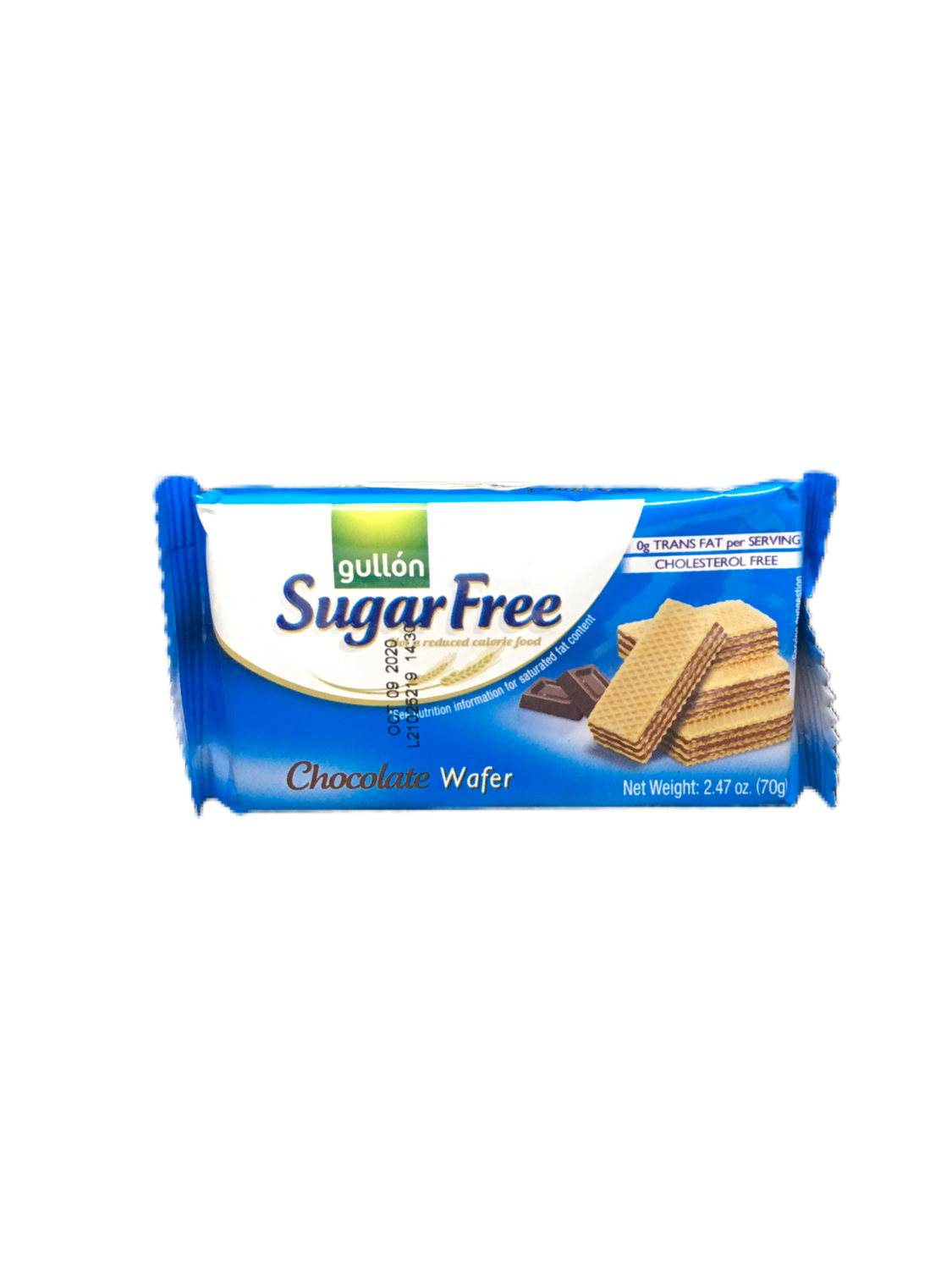 Galletas Vanilla Wafer Sugar Free