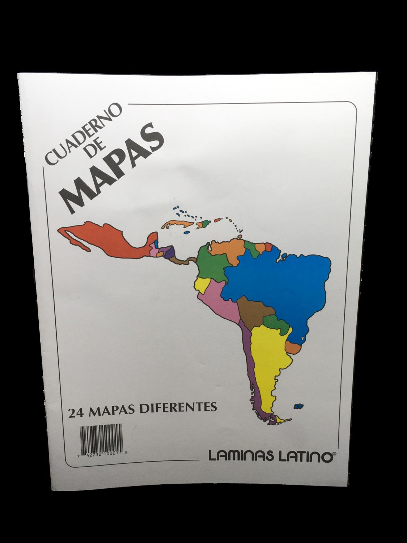Cuaderno de Mapas 24