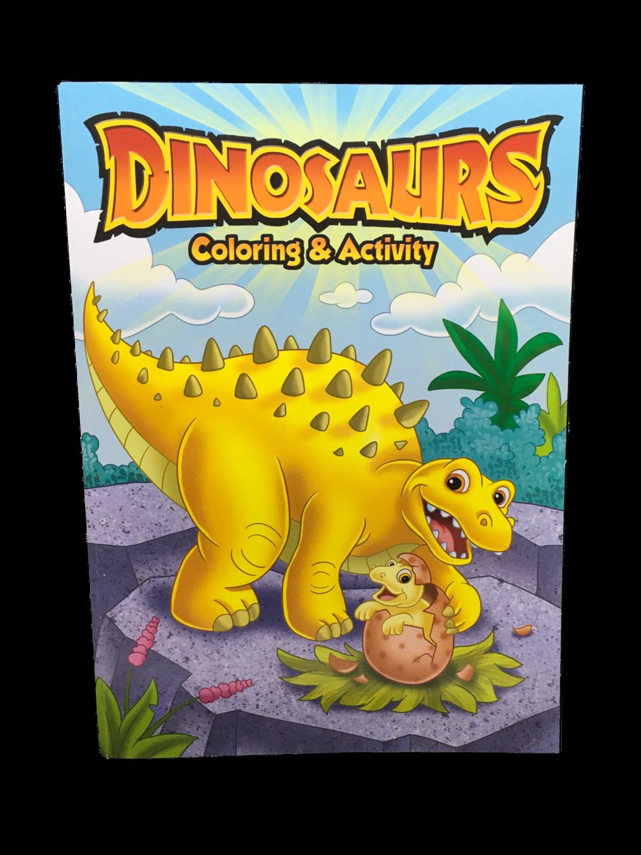 Libro de Pintar Dinosaurios
