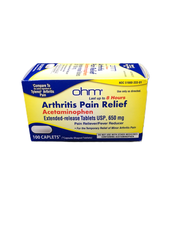 Arthritis Pain Relief 650mg