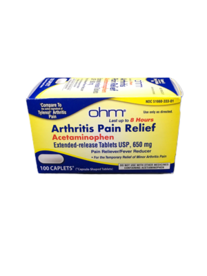 Arthritis Pain Relief 650mg