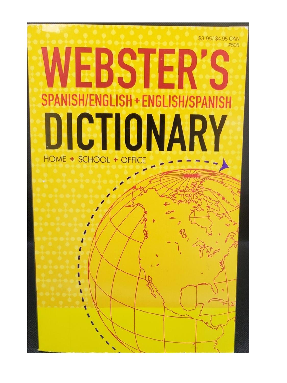 Diccionario Inglés Español Webster