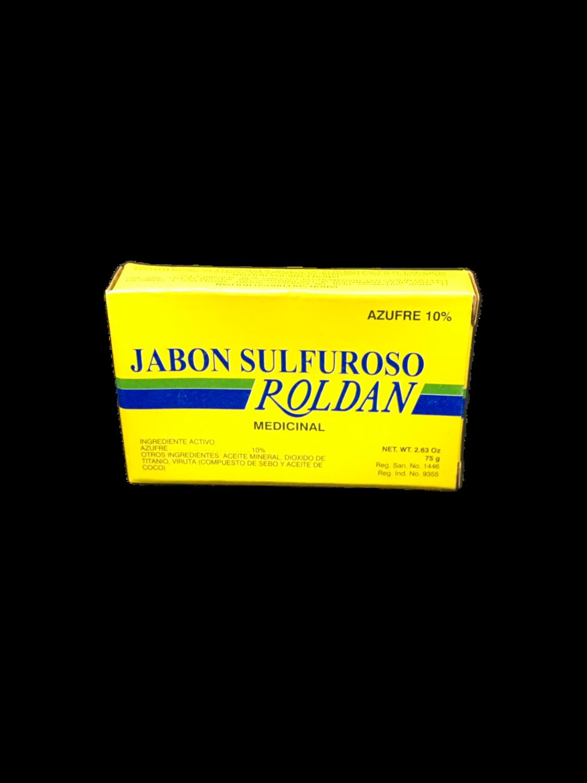 Jabón Sulfuroso Roldan