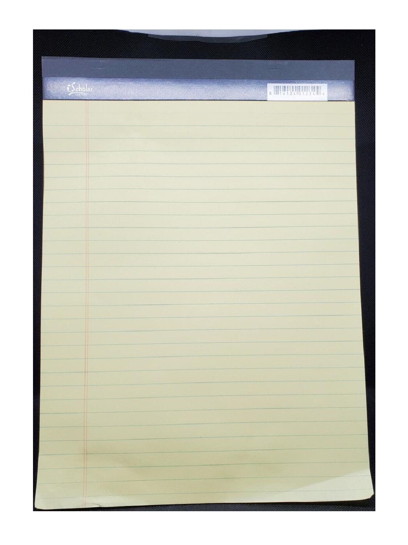 Legal Pad Carta Amarillo