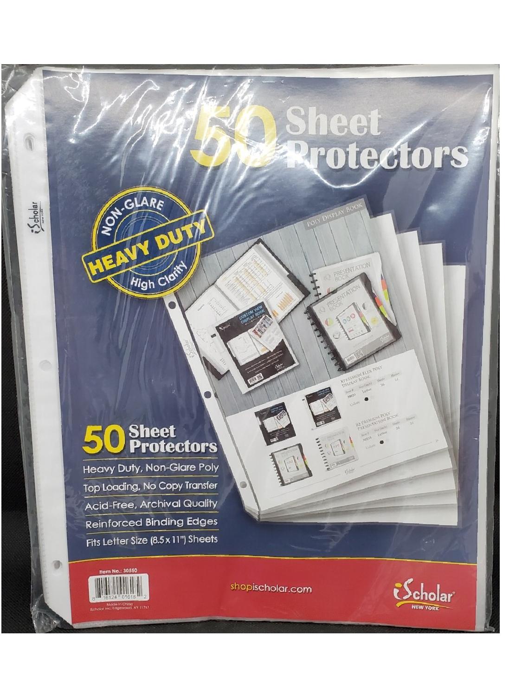 Sheet Protectors 50