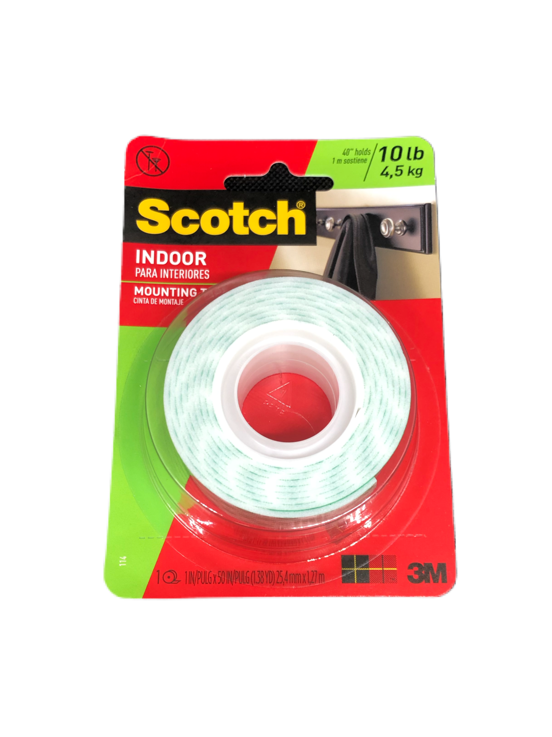 Mounting Tape en Cinta Scotch Ancho