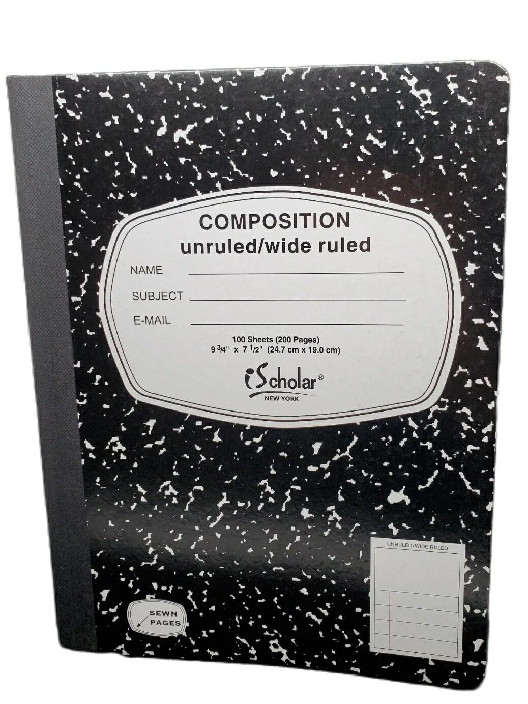 Libreta Composition Cocida