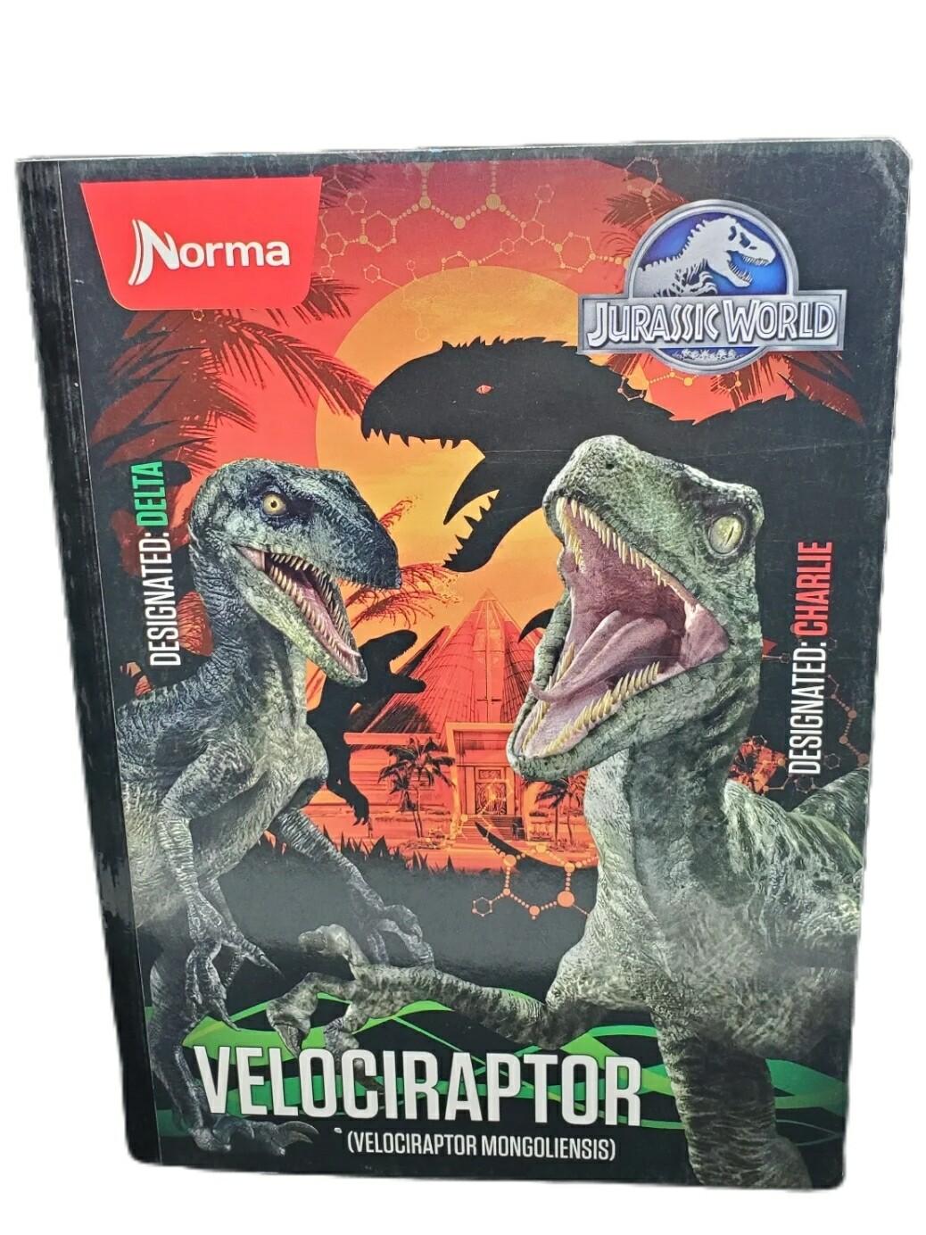 Libreta Carpeta Dura Grande Jurassic World