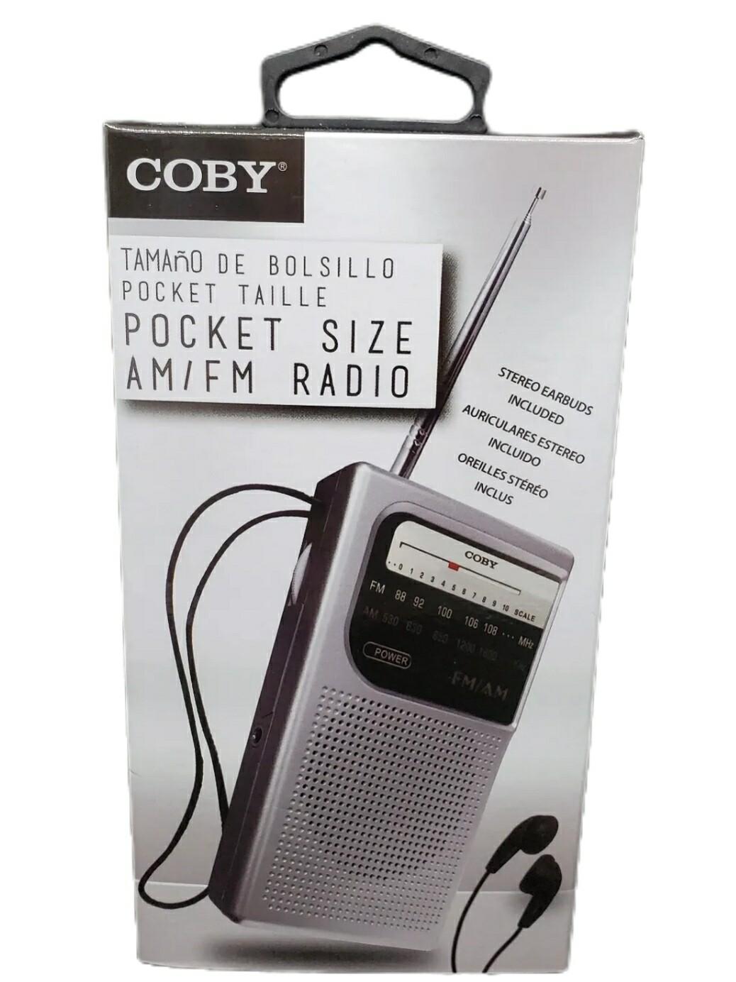Radio de Bolsillo Coby