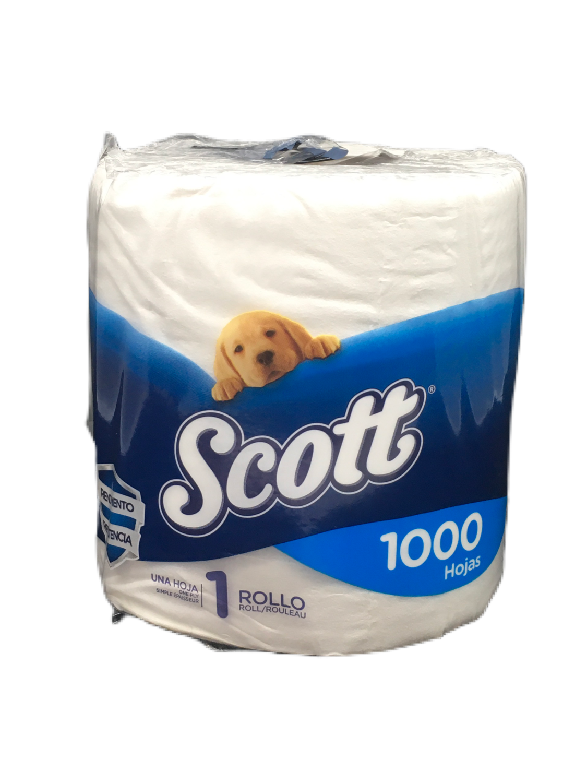 Papel Higiénico Scott 1 Rollo