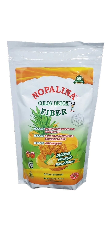 Nopalina Colon Detox Fiber