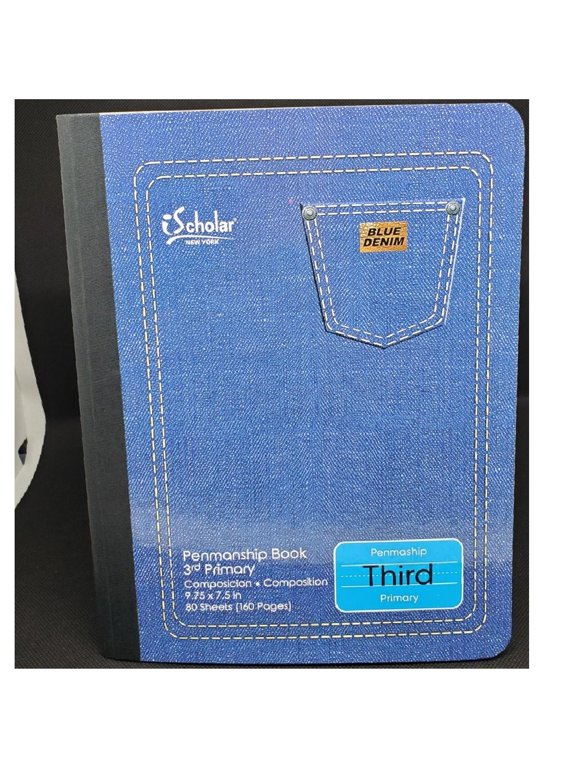 Libreta Primaria (Third) Blue Denim