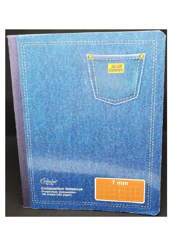 Libreta Papel Cuadriculado 7mm