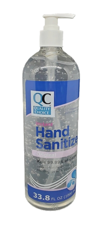 QC Hand Sanitizer 33.8 oz