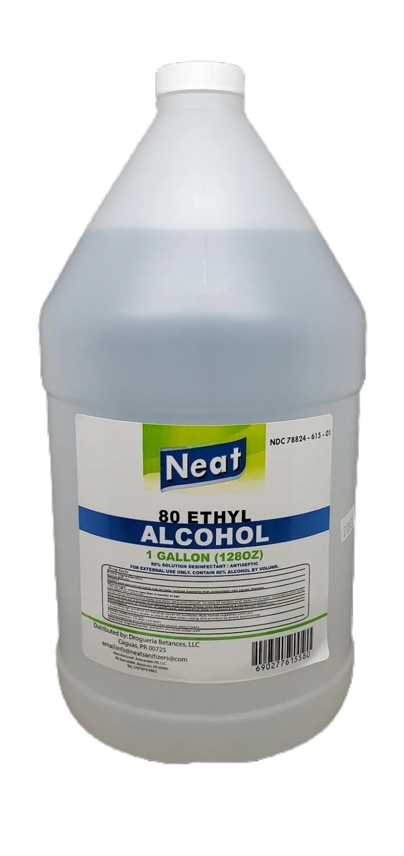 Alcohol Etílico 80 Galón