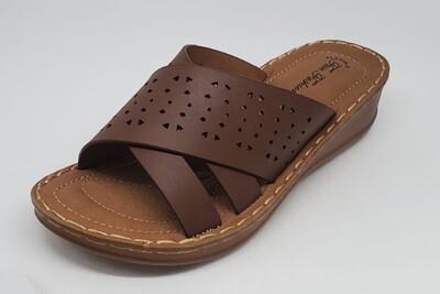 Brown Flat Sandal
