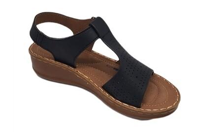 Black Sandal Top