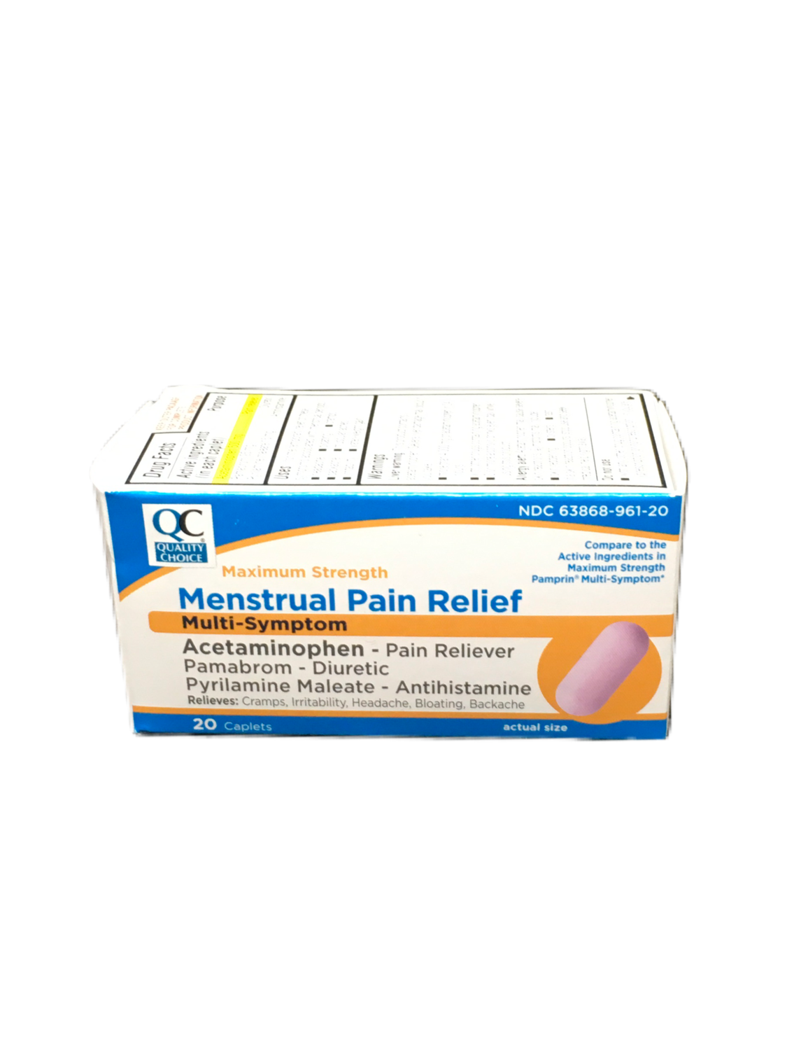 QC Menstrual Pain Relief Max Strength