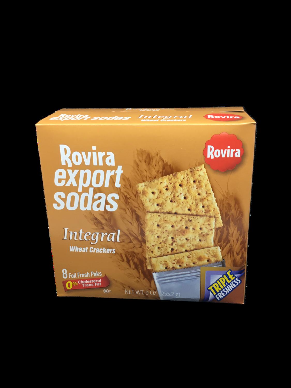 Galleta Export Soda Integral