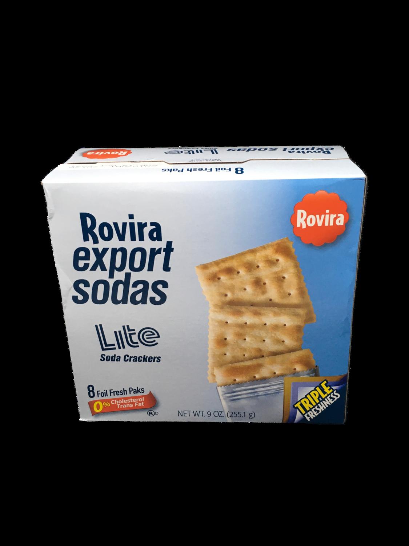 Galletas Export Sodas Lite