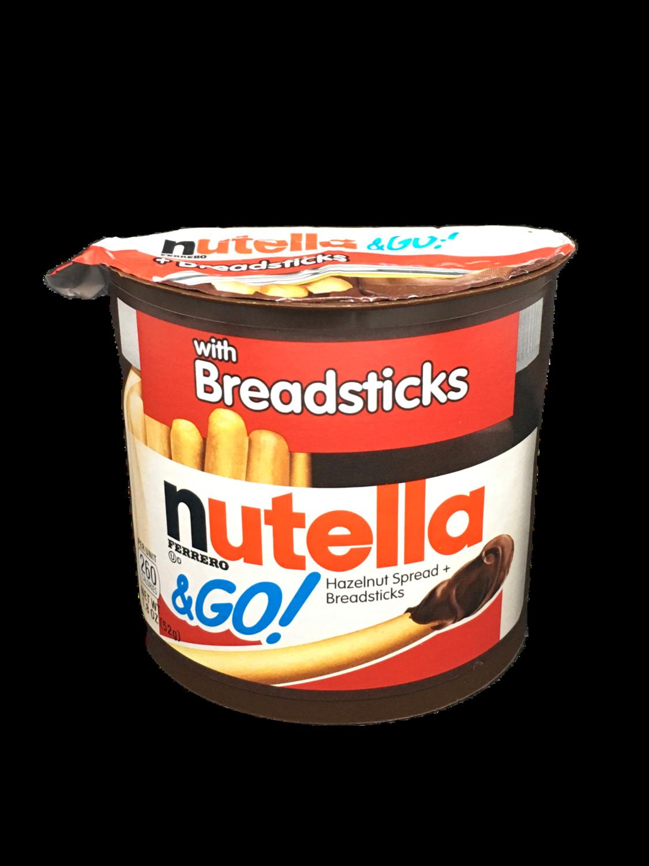 Nutella Breadsticks