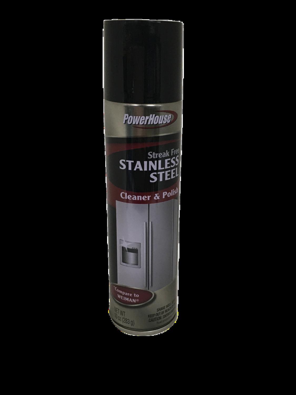 Spray limpiador para Stainless Steel