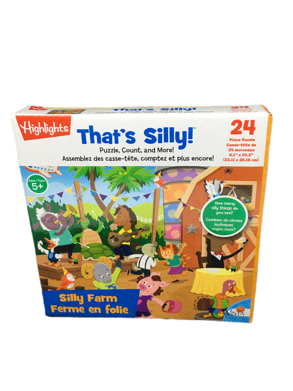 Rompecabezas infantil 24 That's Silly!