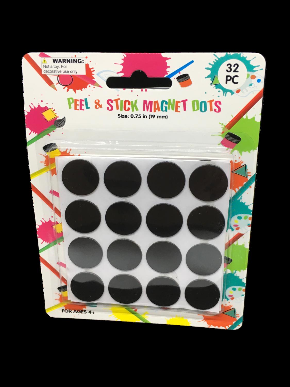 Magnetos redondos 32 piezas
