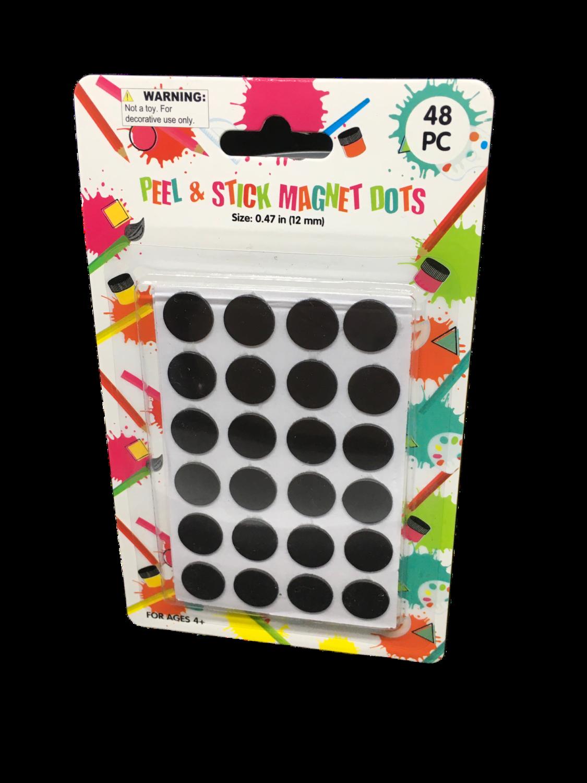 Magnetos redondos 48 piezas