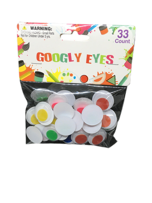 Googly Eyes 33 piezas
