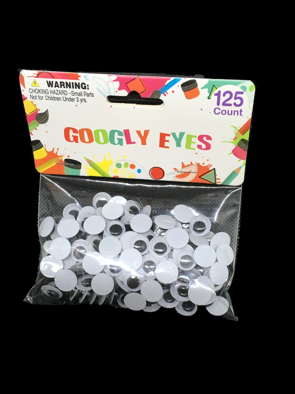 Googly Eyes 125 piezas