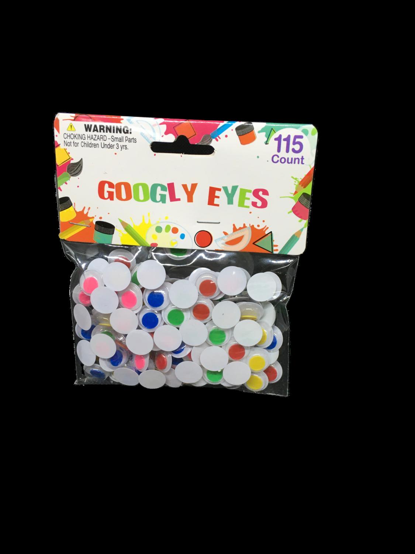 Googly Eyes 115 piezas
