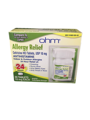 Allergy Relief  Cetirizine