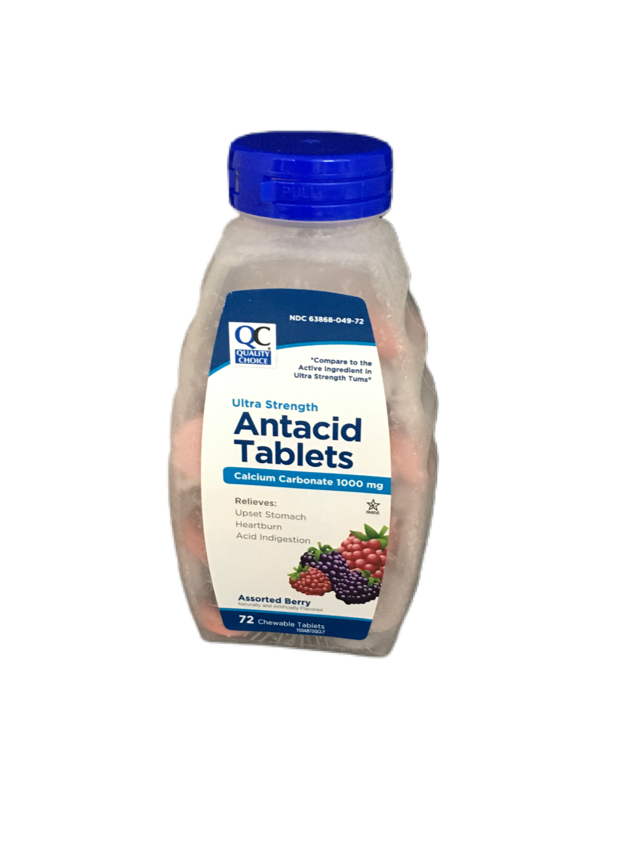 QC Antacid Tablets Ultra Strenght