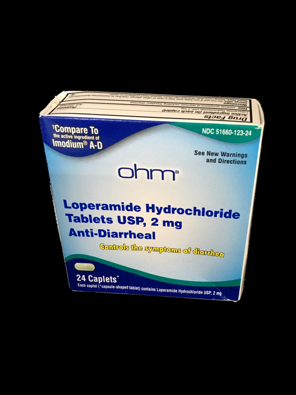 Loperamide Anti- Diarrheal 24 caplets
